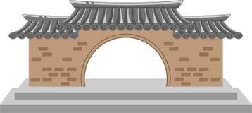 Architettura asiatica Immagine Stock Libera da Diritti