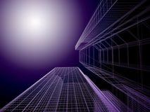 Architettura astratta. Immagine Stock