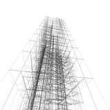 Architettura astratta Immagine Stock