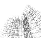 Architettura astratta Immagine Stock Libera da Diritti