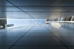 Architettura astratta del moder Fotografie Stock Libere da Diritti
