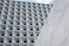 Architettura astratta - facciata Architettura moderna astratta fotografie stock libere da diritti