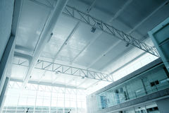 Architettura attendente del Corridoio Fotografia Stock Libera da Diritti