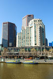 Architettura australiana moderna, Melbourne CBD Immagine Stock Libera da Diritti