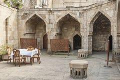Architettura a Bacu Azerbaijan immagine stock