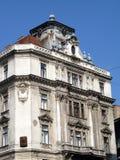 Architettura barrocco, Budapest Fotografia Stock Libera da Diritti