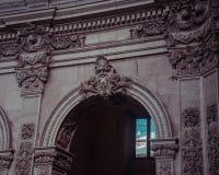Architettura barrocco della città di Palacio da Bolsa di architettura fotografie stock
