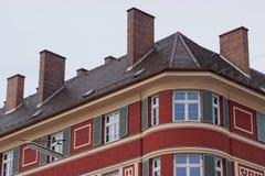 Architettura bavarese Fotografia Stock Libera da Diritti