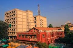 Architettura britannica e moderna India immagine stock libera da diritti