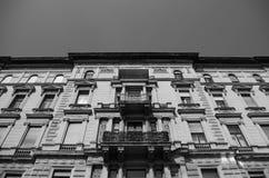 Architettura a Budapest, Ungheria Fotografia Stock