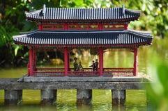 Architettura cinese Fotografia Stock