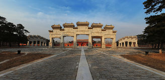 Architettura cinese antica fotografie stock