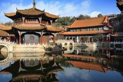 Architettura cinese antica Fotografia Stock