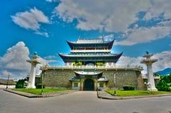 Architettura cinese antica Immagine Stock Libera da Diritti