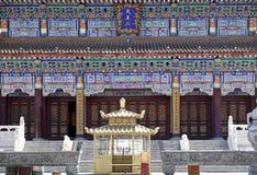 Architettura cinese del tempiale Immagini Stock Libere da Diritti