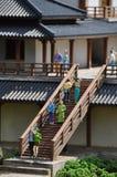 Architettura cinese miniatura Fotografie Stock Libere da Diritti