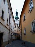 Architettura in Città Vecchia di Bratislava Immagini Stock