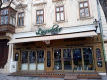 Architettura in Città Vecchia di Bratislava Fotografie Stock Libere da Diritti