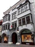 Architettura in Città Vecchia di Bratislava Fotografia Stock