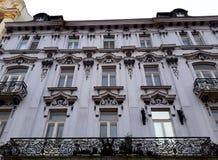 Architettura in Città Vecchia di Bratislava Fotografia Stock Libera da Diritti