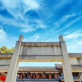 Architettura classica cinese Fotografie Stock Libere da Diritti