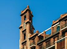Architettura classica delle costruzioni a Valencia Fotografie Stock