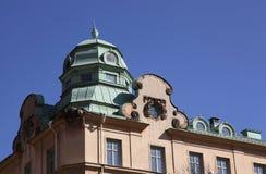 Architettura classica di Stoccolma Immagini Stock