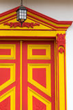Architettura coloniale Colourful fotografie stock libere da diritti