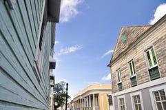 Architettura coloniale in Ponce, Porto Rico immagini stock