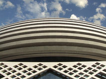 Architettura contemporanea Fotografia Stock Libera da Diritti
