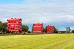 Architettura contemporanea in Almere Paesi Bassi Fotografia Stock
