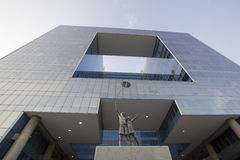Architettura contemporanea con lo scultpture, Caracas Fotografie Stock Libere da Diritti