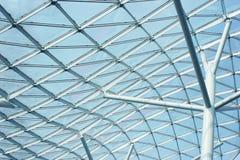 Architettura contemporanea: costruzione di vetro Fotografia Stock Libera da Diritti