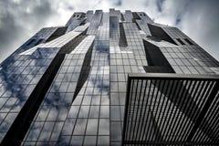 Architettura contemporanea a Vienna Fotografia Stock Libera da Diritti