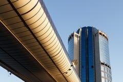 Architettura, costruzioni moderne Immagine Stock Libera da Diritti