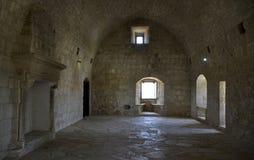 Architettura dal castello di Kolossi Fotografie Stock