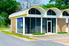 architettura degli anni 60 Immagine Stock Libera da Diritti