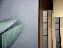 Architettura degli edifici di Shanghai fotografie stock libere da diritti