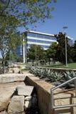 Architettura dei pæsaggi in Hall Park Frisco TX Fotografia Stock Libera da Diritti