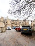 Architettura del bene immobile della casa di parcheggio dell'Inghilterra del bagno Immagini Stock Libere da Diritti