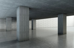 Architettura del cemento Fotografia Stock Libera da Diritti