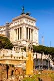 Architettura del centro storico di Roma, Italia Fotografia Stock Libera da Diritti