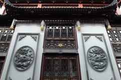 Architettura del cinese tradizionale immagine stock libera da diritti