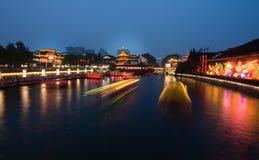 Architettura del cinese tradizionale Immagini Stock Libere da Diritti