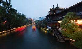 Architettura del cinese tradizionale Immagine Stock