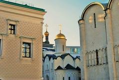 Architettura del Cremlino di Mosca Foto a colori Fotografia Stock