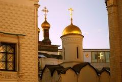 Architettura del Cremlino di Mosca Foto a colori Immagine Stock Libera da Diritti