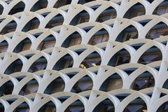 Architettura del favo Fotografia Stock Libera da Diritti