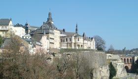Architettura del Lussemburgo Fotografia Stock Libera da Diritti