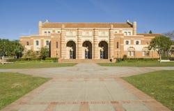 Architettura del mattone dell'università Fotografie Stock Libere da Diritti